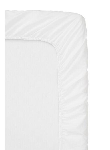 Spannbettlaken Topper - Soft Cotton - 90x220cm weiß weiß 90 x 220 - 5100137 - HEMA