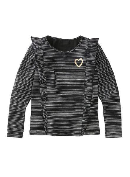 children's T-shirt black black - 1000005714 - hema
