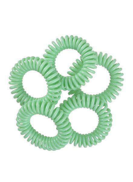 lot de 5 élastiques spirales - 11870025 - HEMA