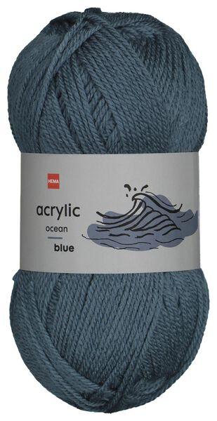 fil acrylique 100g bleu - 1400190 - HEMA