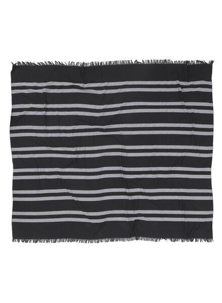 serviette hammam noir - 1000015142 - HEMA