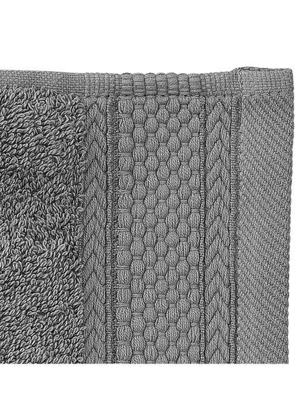 towel - 70 x 140 cm - hotel quality - dark grey dark grey towel 70 x 140 - 5217015 - hema