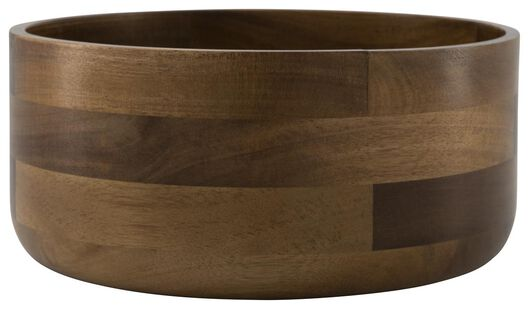 saladier Ø 23.5 cm - bois d'acacia. - 80610202 - HEMA