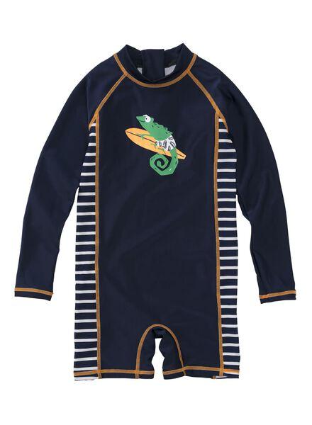 children's swimsuit - UV protection blue blue - 1000006800 - hema