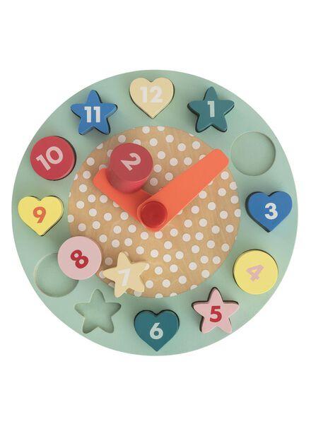 puzzle en bois horloge - 15122388 - HEMA