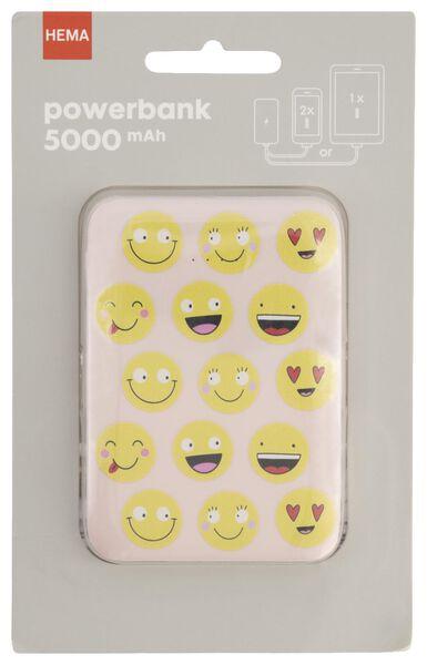 HEMA Powerbank 5000 MAh - Smileys