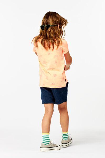 t-shirt enfant orange vif orange vif - 1000024048 - HEMA