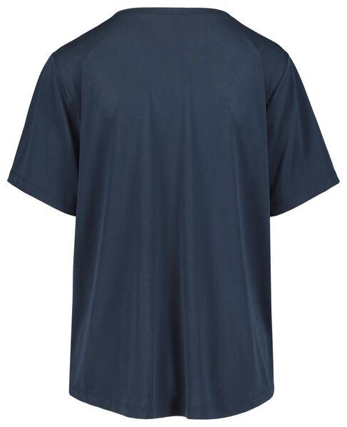 women's T-shirt dark blue dark blue - 1000019414 - hema
