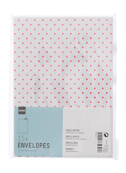 15 enveloppes - 14170021 - HEMA