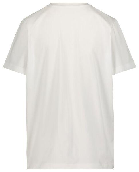Damen-T-Shirt Jip weiß weiß - 1000019661 - HEMA
