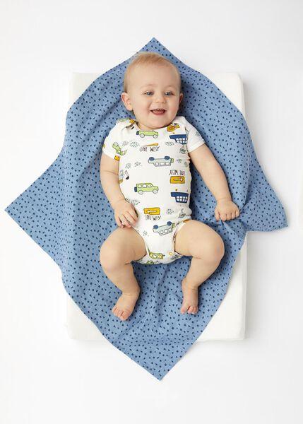 bodysuit organic cotton stretch multi multi - 1000017809 - hema