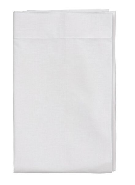 drap - coton doux - 240x260 cm - blanc - 5140075 - HEMA