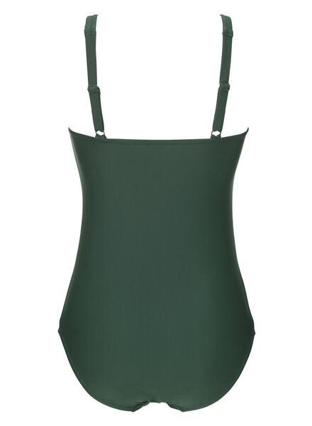 maillot de bain control femme vert vert - 1000023631 - HEMA