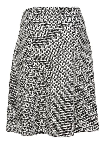women's skirt black/white black/white - 1000007644 - hema