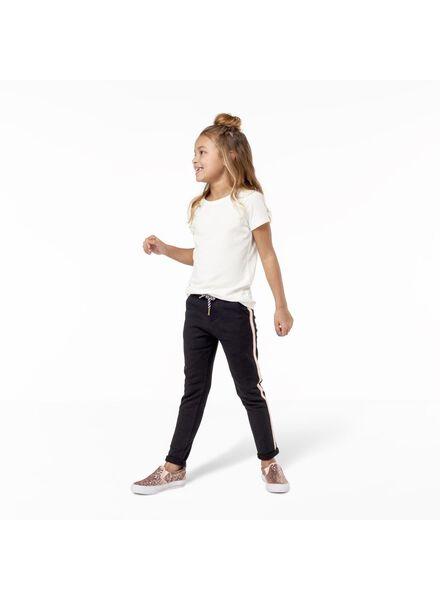 2er-Pack Kinder-T-Shirts weiß weiß - 1000011420 - HEMA