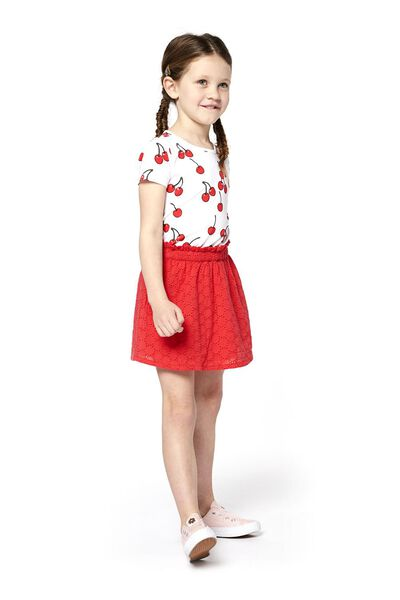 Kinder-T-Shirt weiß weiß - 1000018345 - HEMA