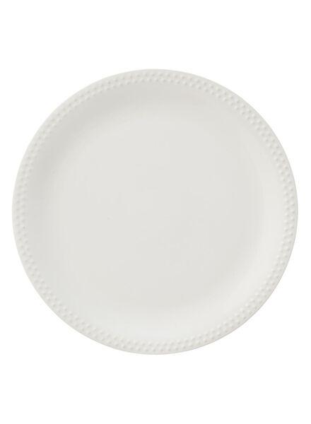 assiette plate Bergen 26cm - 9680040 - HEMA
