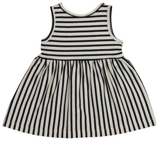 Baby-Kleid, ärmellos, Biobaumwolle blau blau - 1000019719 - HEMA