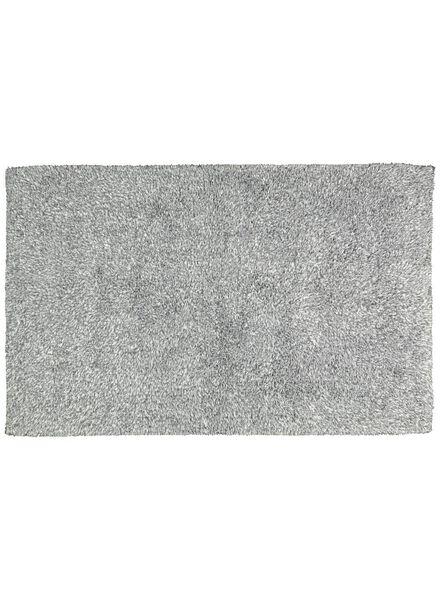 tapis de bain - 50 x 85cm - qualité hôtel très douce - gris clair - 5210002 - HEMA