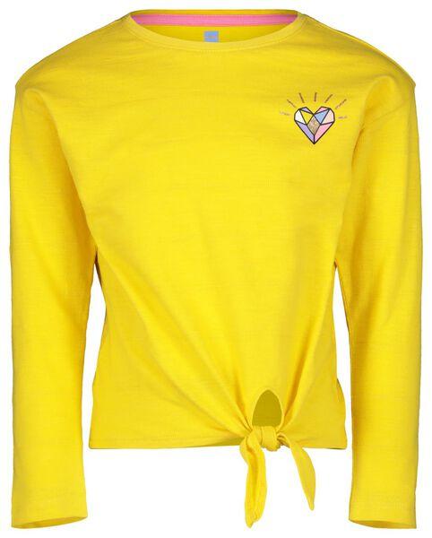 children's T-shirt yellow yellow - 1000017609 - hema