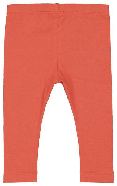 2-pack baby leggings coral coral - 1000017446 - hema
