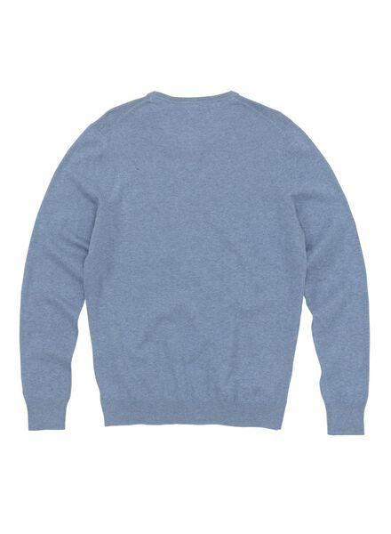 Herren-Pullover hellblau hellblau - 1000011833 - HEMA