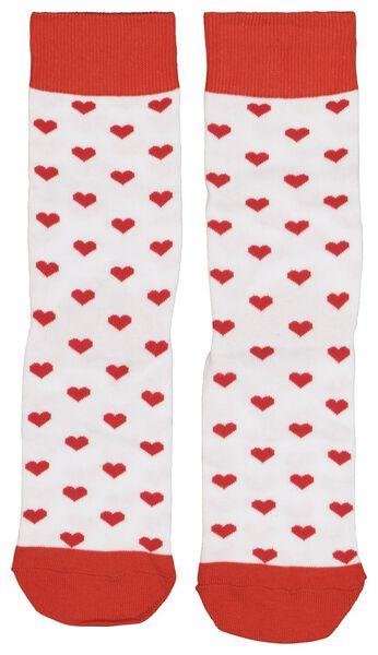 chaussettes pointure 36-41 coeurs - 61122824 - HEMA