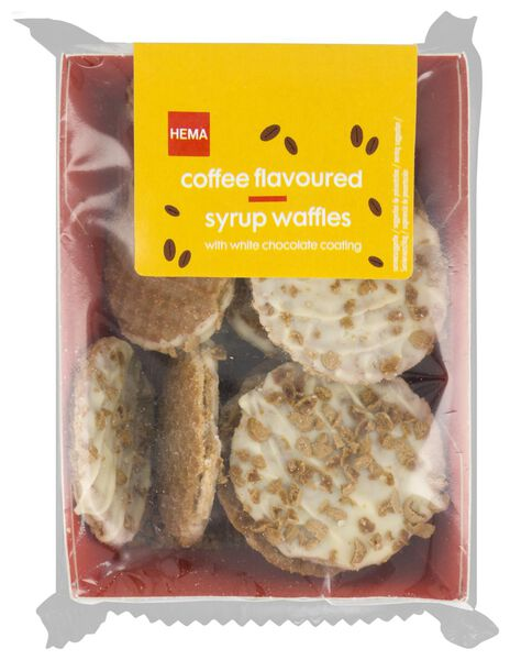 treacle wafers white chocolate coffee 145 grams - 10820003 - hema