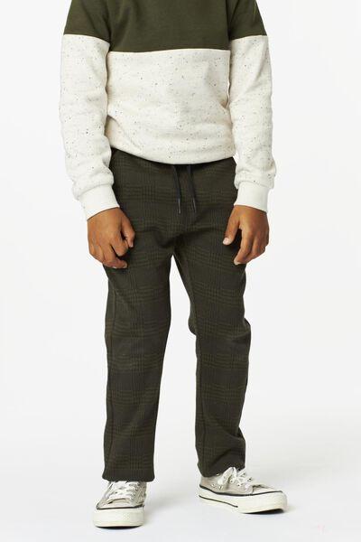 Kinder-Hose, kariert graugrün graugrün - 1000024556 - HEMA
