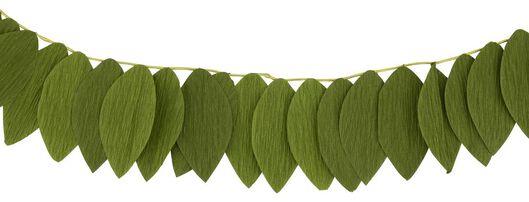 Blätter-Girlande, 1.5 m, Papier, grün - 25860008 - HEMA