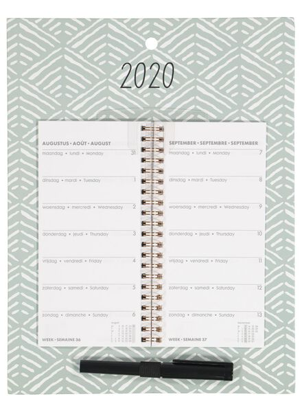 weekly calendar 2020 - 30 x 23 cm - 14600249 - hema