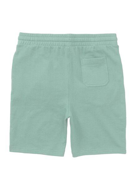 men's shorts sweatshirt fabric light green light green - 1000006136 - hema