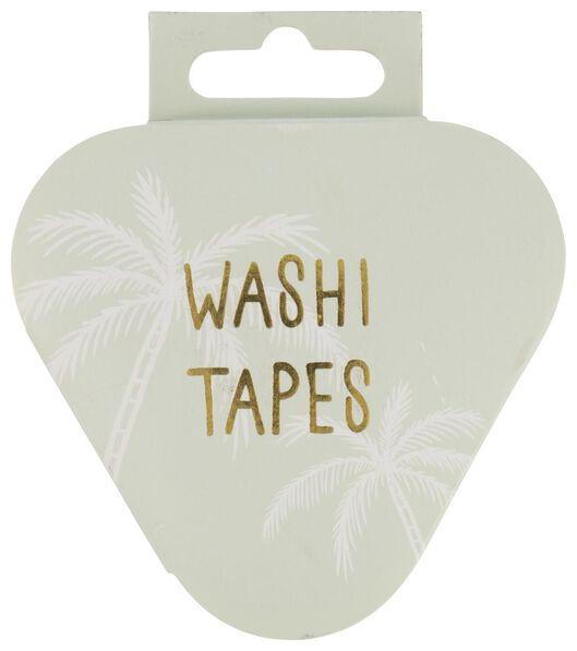 3er-Pack Washi-Tape, 5 m x 15 mm - 14100061 - HEMA