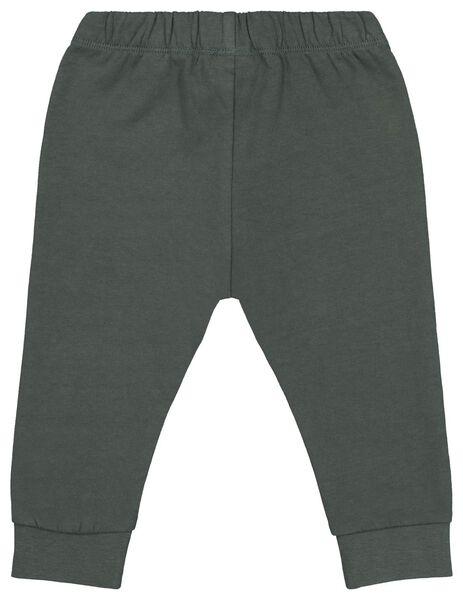 baby sweatpants green green - 1000020430 - hema