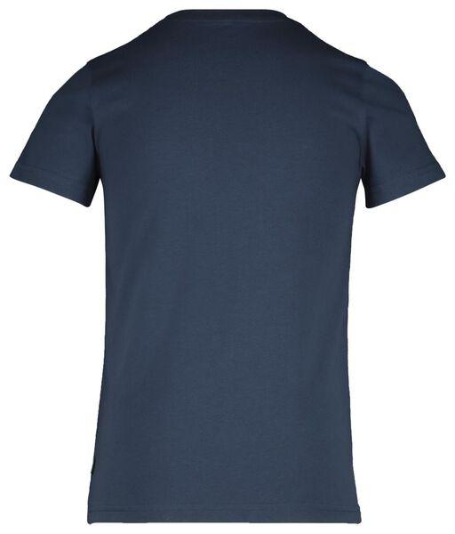 2er-Pack Kinder-T-Shirts blau blau - 1000018907 - HEMA