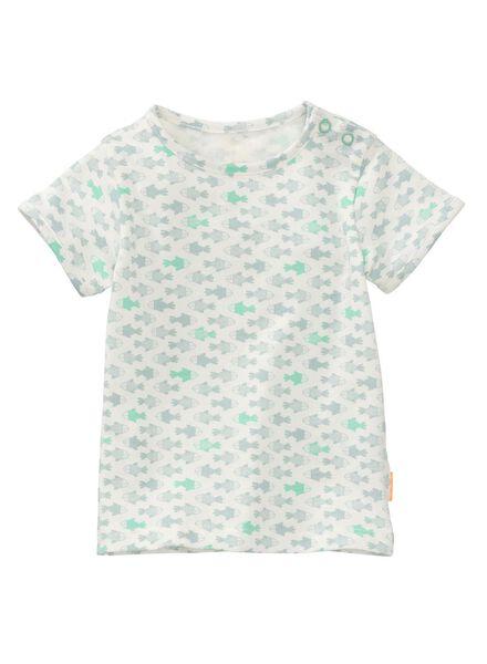 newborn T-shirt light blue light blue - 1000007205 - hema
