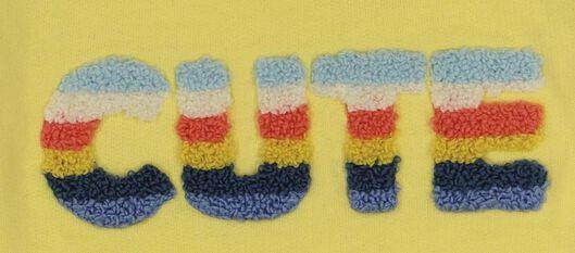 newborn sweater yellow yellow - 1000017653 - hema