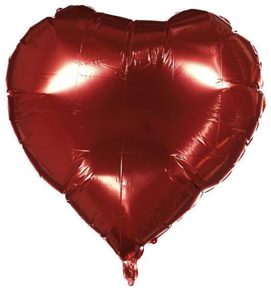 ballon alu cœur XXL - Saint-Valentin - 60800823 - HEMA