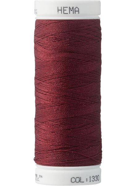 machine thread machine thread dark red - 1422017 - hema