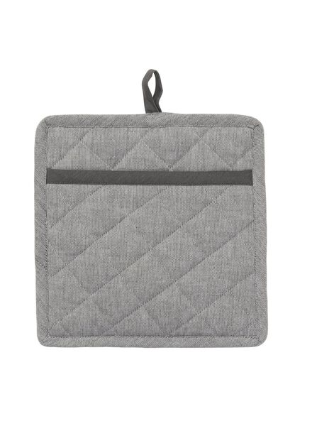 manique - 21 x 21 - coton - gris - 5420004 - HEMA