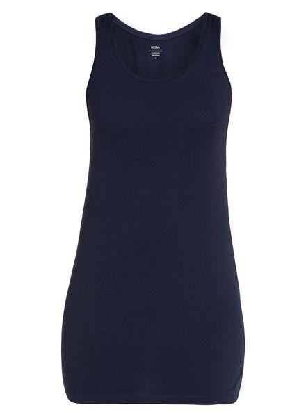 HEMA Débardeur Femme - Coton Biologique Bleu Foncé (donkerbleu ) 76879818f94