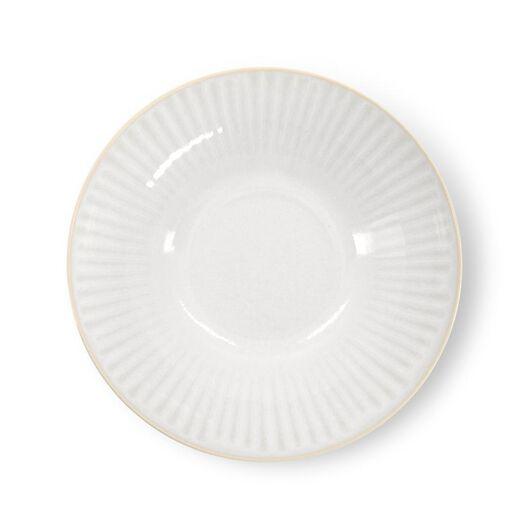 dish - Ø24cm - France - reactive glaze - white - 9602274 - hema