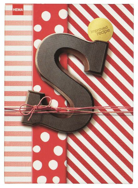 lettres en chocolat noir noir - 1000015879 - HEMA
