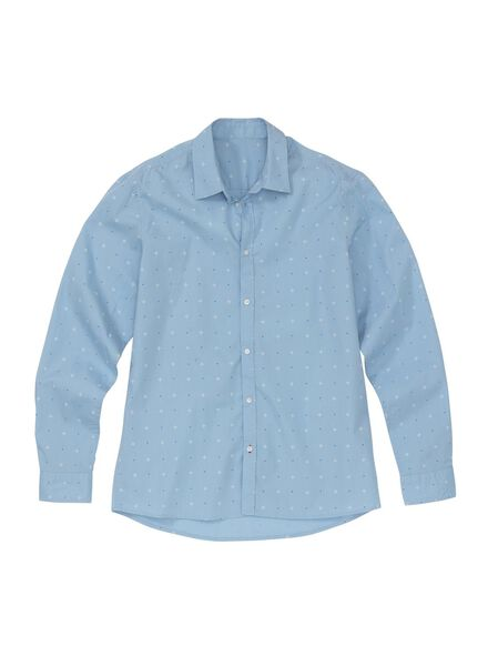 men's shirt light blue light blue - 1000005850 - hema
