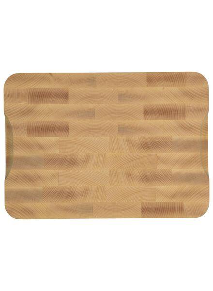 chopping block 25x35x3.5 wood - 80810311 - hema