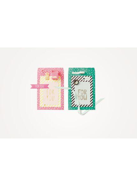 6-pack gift bags - 14700062 - hema