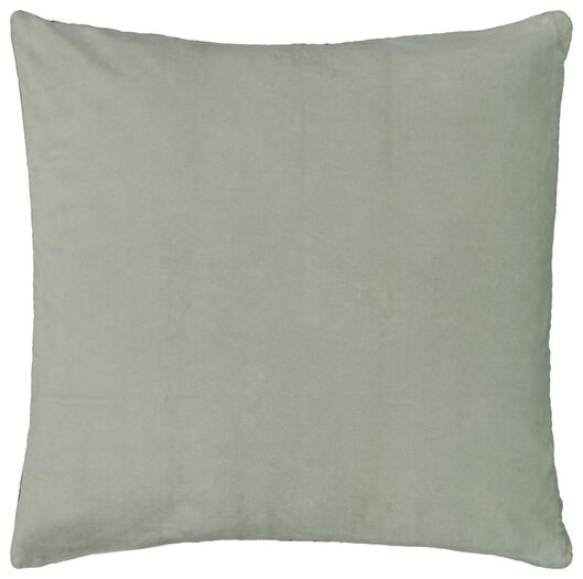cushion cover - 50x50 - velvet - green - 7320021 - hema
