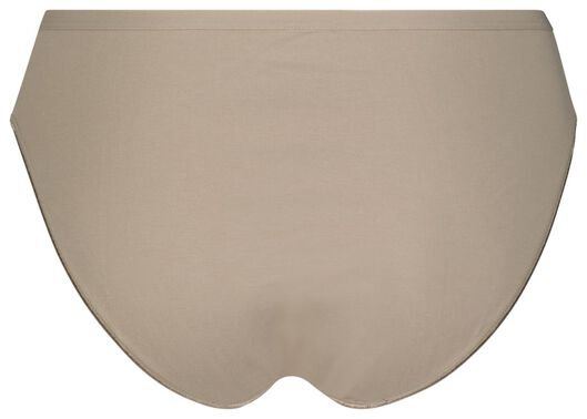 3er-Pack Damen-Slips beige beige - 1000024093 - HEMA