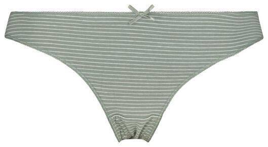 3er-Pack Damen-Slips grün grün - 1000020852 - HEMA