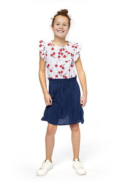 Kinder-Kleid dunkelblau dunkelblau - 1000019014 - HEMA
